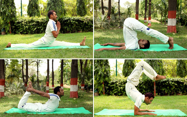 Yoga helps in fighting diseases