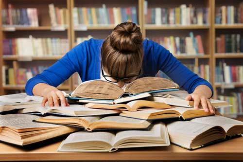 استراحت در حین مطالعه
