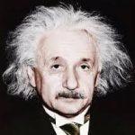 Albert Einstein headshot overcoming obstacles