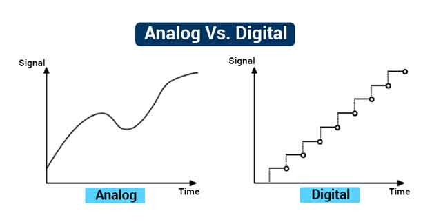 تفاوت دیجیتال و آنالوگ