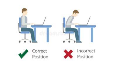 درست و اشتباه نشستن