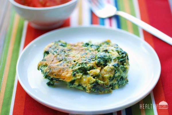 spinach scrambled eggs
