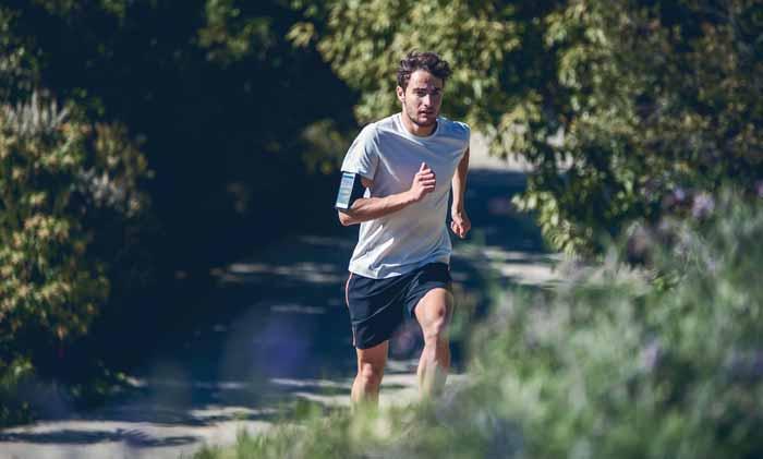 در حال دویدن