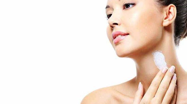 زیبایی پوست گردن
