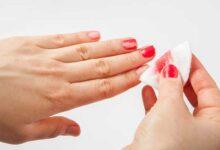 تصویر از چه چیزی لاک را پاک میکند؟ 6 روش موثر حذف لاک