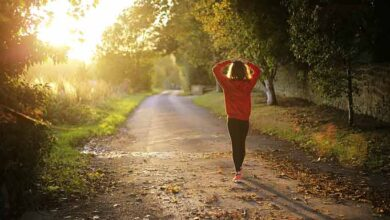 قدم زدن در طبیعت