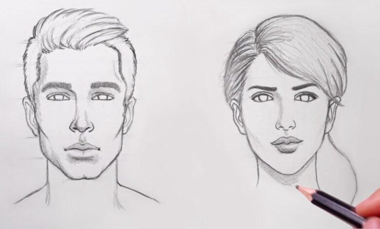طراحی چهره