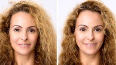 وزی مو قبل و بعد
